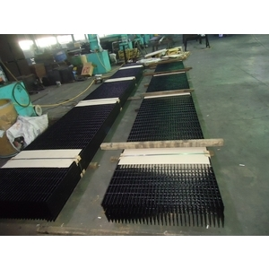 Black Painted Grating
